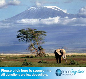 1 week to go to Kilimanjaro!