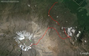 Kilimanjaro GPS Data Set